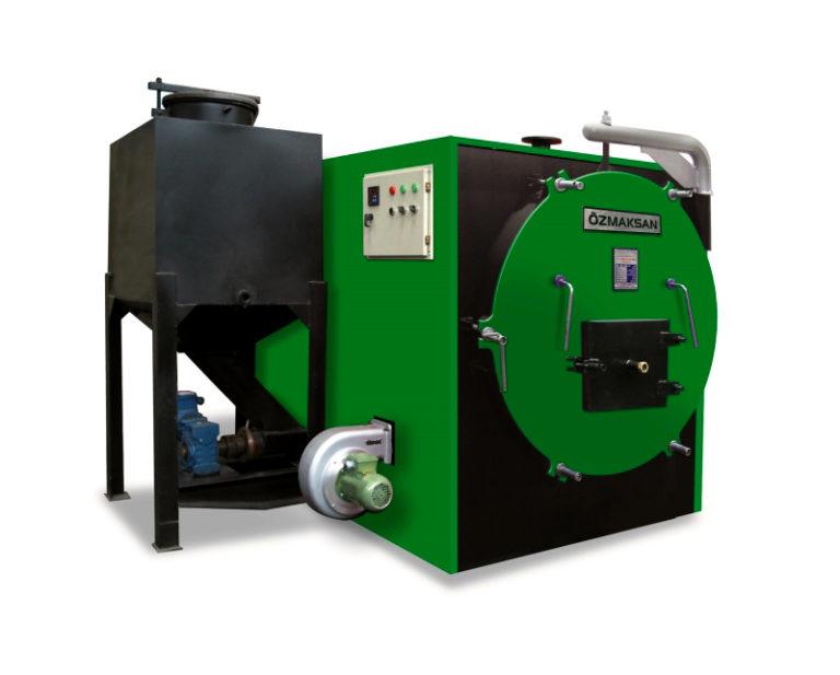 Твердотопливный котел с автоматической загрузкой топлива