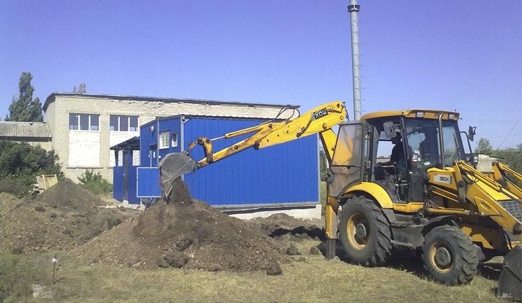Строительство котельной